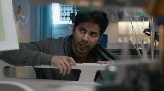 Varun dhawan in october