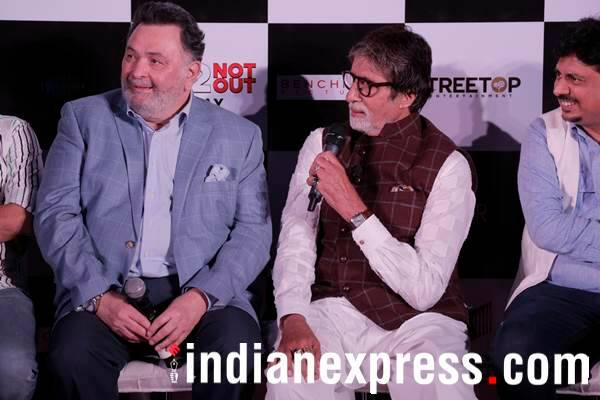 amitabh bachchan speaks during 102 Not Out event