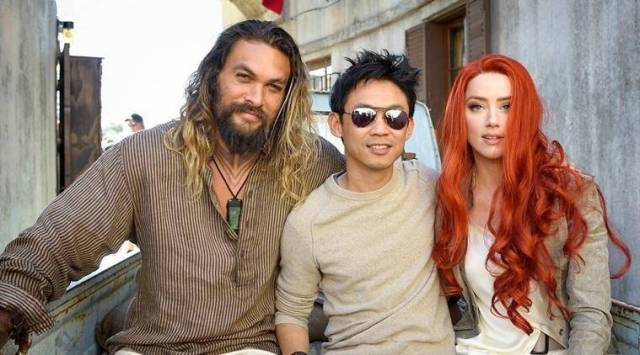 Jason Momoa, James Wan leave for Aquaman press tour