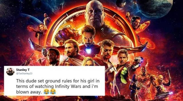 Youll be hearing from my lawyer: Man sets bizarre rules for girlfriend before taking her to Avengers: Infinity War