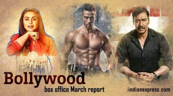 Bollywood box office in March: Baaghi 2 secures highest opening, Ajay Devgn starrer raids theatres