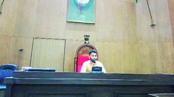 Gujarat Assembly: Photos of man sitting on Speaker's chair go viral, inquiry ordered