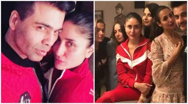 Kareena Kapoor, Malaika Arora and Karan Johar make merry on EasterSunday