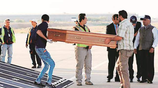 Indians killed in Iraq: Plane carrying 38 of 39 bodies to land in Amritsar soon