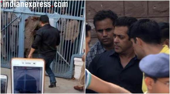 Salman Khan enters Jodhpur Central jail, see photos