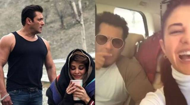 Race 3 actors Salman Khan and Jacqueline Fernandez take in the sights and sounds of Jammu and Kashmir