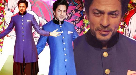 Shah Rukh Khan's second wax statue in his signature pose unveiled at Madame Tussauds Delhi; see pics