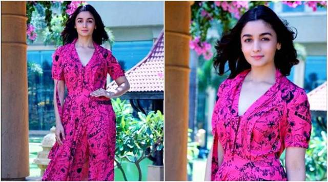 Raazi promotions: Alia Bhatt gives summer fashion goals in this quirky Burberry dress