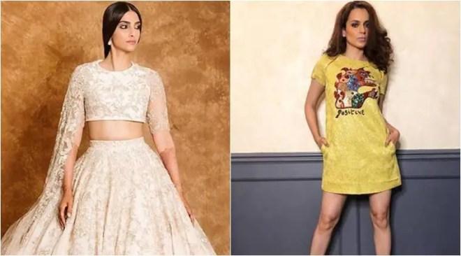 Bollywood Fashion Watch for May 15: Sonam Kapoor stuns at Cannes in a lehenga, Kangana Ranaut slays in Dior mini