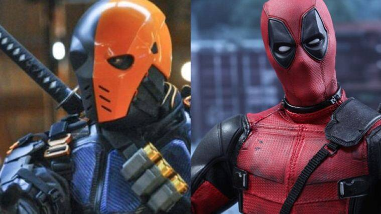 deadpool and deathstroke
