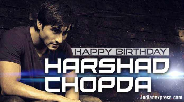 harshad chopra birthday