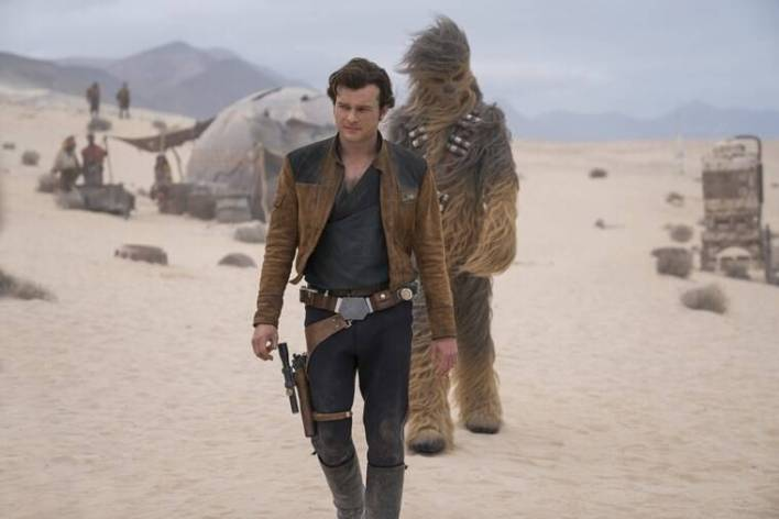 in solo a star wars story, Alden Ehrenreich plays han solo