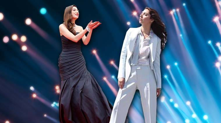Mahira Khan, Mahira Khan Cannes, Mahira Khan Cannes 2018, Mahira Khan cannes debut, Mahira Khan images, Mahira Khan pics, Mahira Khan photos, Mahira Khan pantsuit, Mahira Khan Ermanno Scervino, Mahira Khan fashion, Mahira Khan latest photos, Mahira Khan Cannes looks, indian express, indian express news
