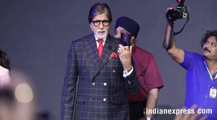 Amitabh Bachchan: When I hold a OnePlus 6 in my hand, I feel superior