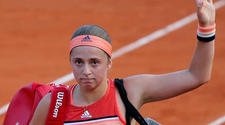 Image result for jelena ostapenko french open 2018