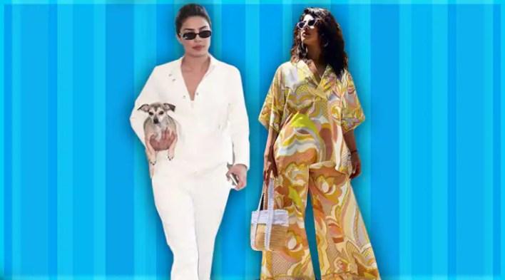 All-white to print-on-print: Priyanka Chopras laid back lookbook fails to impress