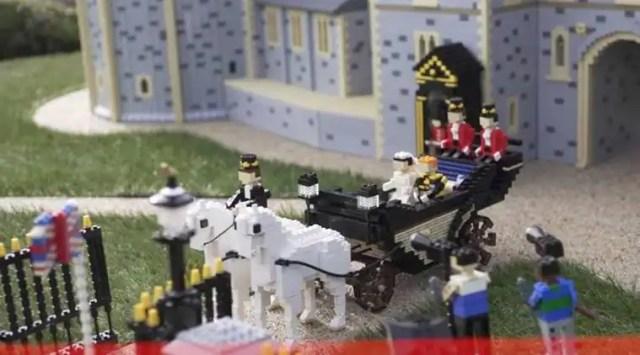 Prince Harry-Meghan Markle wedding: This miniature Windsor Castle was built with 39,000 Lego bricks