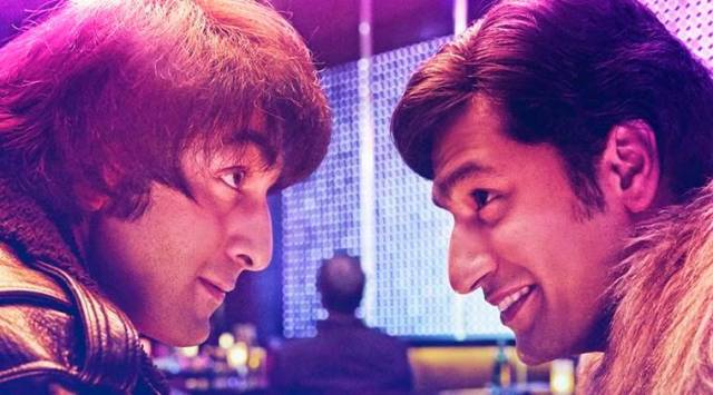 Sanju poster: Vicky Kaushal is channelling retro vibes as Ranbir Kapoors best friend