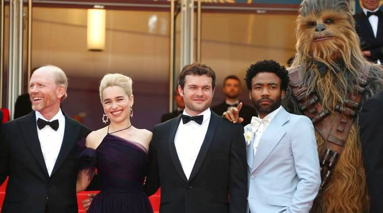 SOLO STAR WARS SCREENING AT CANNES