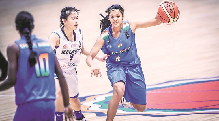 Vaishnavi Yadav, Vaishnavi Yadav news, Vaishnavi Yadav updates, Vaishnavi Yadav matches, sports news, basketball, Indian Express