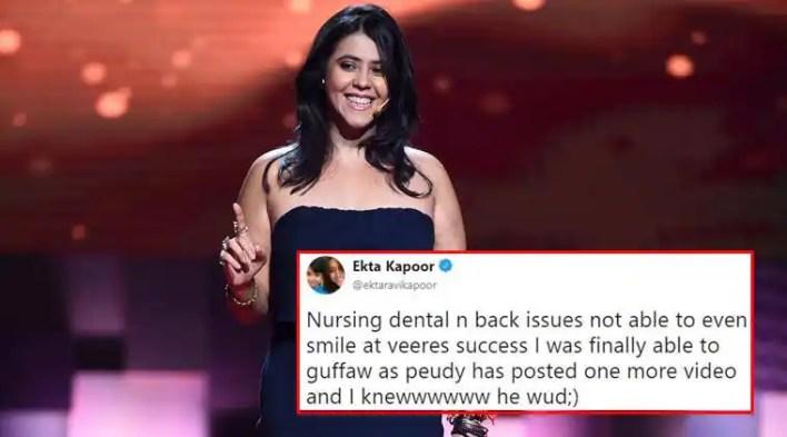 VIDEO: YouTuber PewDiePie pokes fun at Ekta Kapoor, Indians and bizarre desi posts