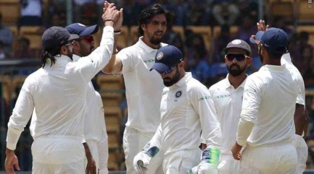 India vs Afghanistan Live Cricket Score Test Live Cricket Streaming: Live Streaming: India two wickets away from victory