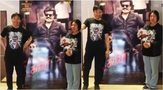 Kya re, setting aa?: Fans of Thalaivar Rajinikanth travel from Japan to watch Kaala; say films dialogues