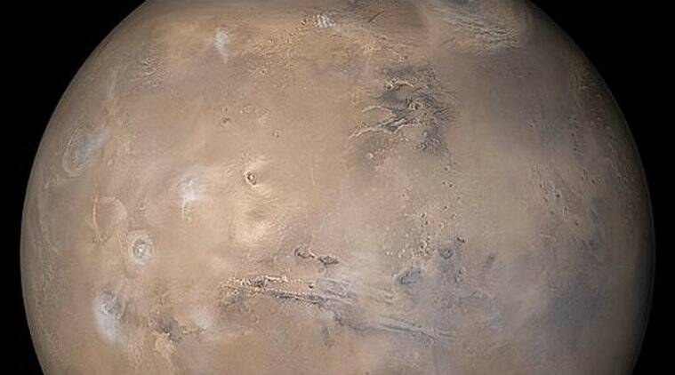 NASA's Opportunity corsair threatened by a sandstorm onMars