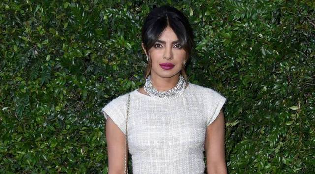 Priyanka Chopra oozes elegance in a pastel Chanel jumpsuit at brands benefit dinner