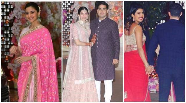 Akash Ambani and Shloka Mehtas pre-engagement party: Priyanka, Nick, Ranbir and Alia in attendance