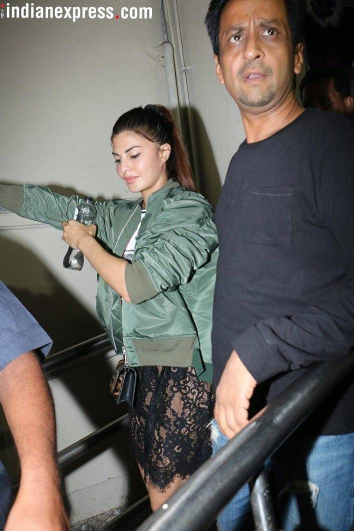 Jacqueline Fernandez photos from the screening of Race 3