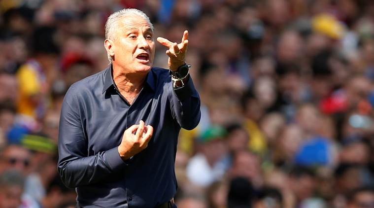 Brazil coach Tite angrily denies any contact with RealMadrid