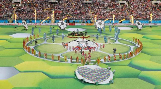 FIFA World Cup 2018 opening ceremony highlights