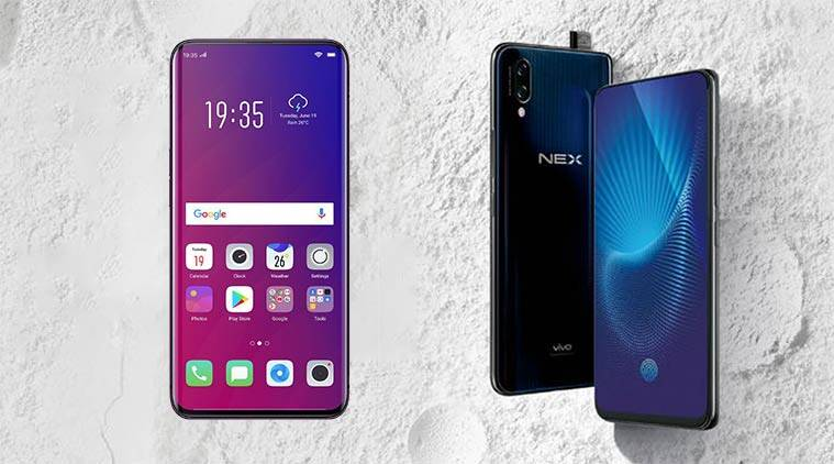 Image result for Vivo Nex With Pop-Up Selfie Camera, 8GB of RAM Launched in India: Price
