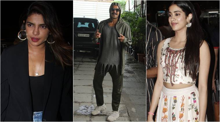 airport style, airport fashion, Priyanka Chopra photos, Malaika Arora photos, Ranveer Singh photos, Janhvi Kapoor photos, indian express, indian express news
