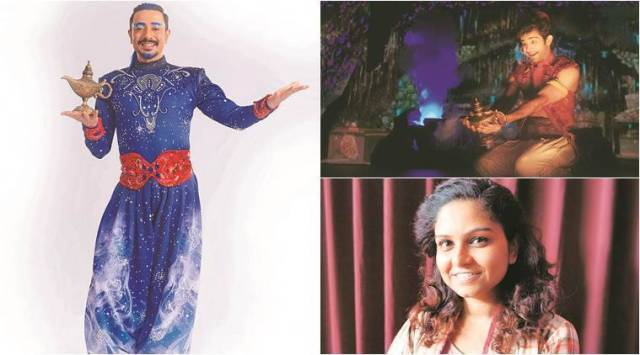 Aladdin Comes of Age: A musical version of the Disneymovie