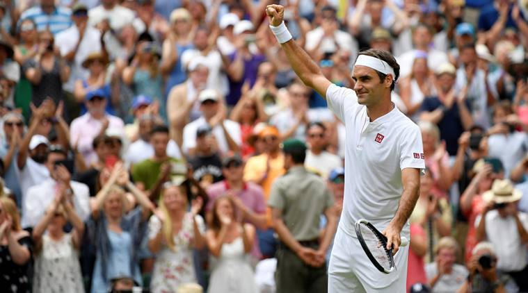 Wimbledon 2018: Roger Federer downs Adrian Mannarino to stay in hunt for 9thtitle