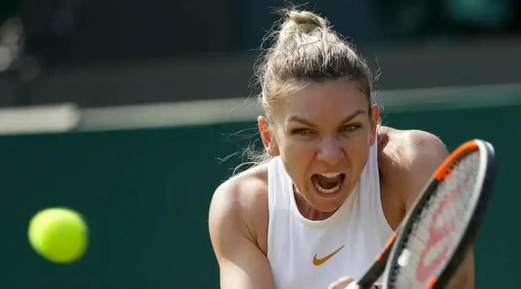 Top-ranked Simona Halep beats Saisai Zheng at Wimbledon2018