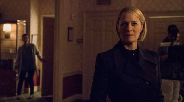 Robin Wright led the charge to save House of Cards, says PatriciaClarkson