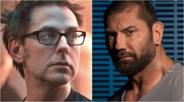 Dave Bautista on James Gunns firing: Im not ok with it