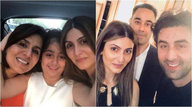 Neetu Singh celebrates her 60th birthday with son Ranbir Kapoor