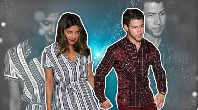Priyanka Chopras striped midi dress on a date night with Nick Jonas is comfy but high on style quotient