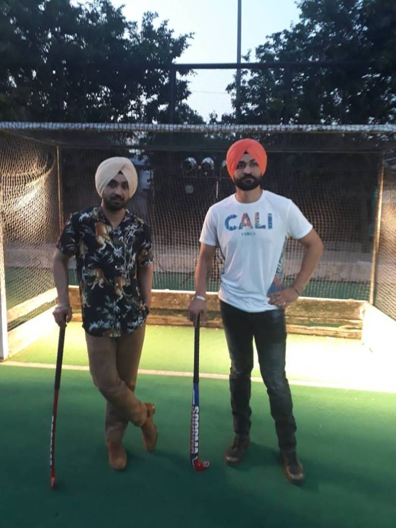 diljit dosanjh as sandeep singh in soorma