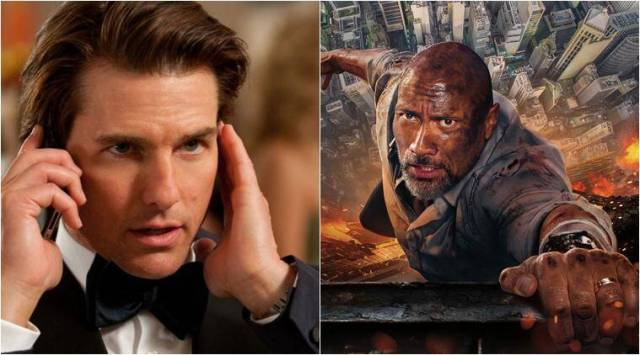 Tom Cruise and Dwayne Johnson open to working together in an actionmovie
