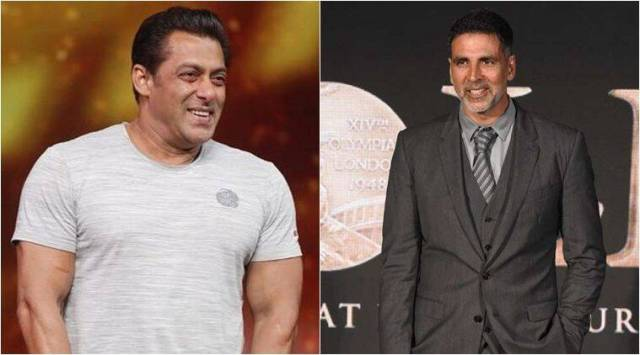 Akshay Kumar and Salman Khan in the list of Forbes' highest-paid actors