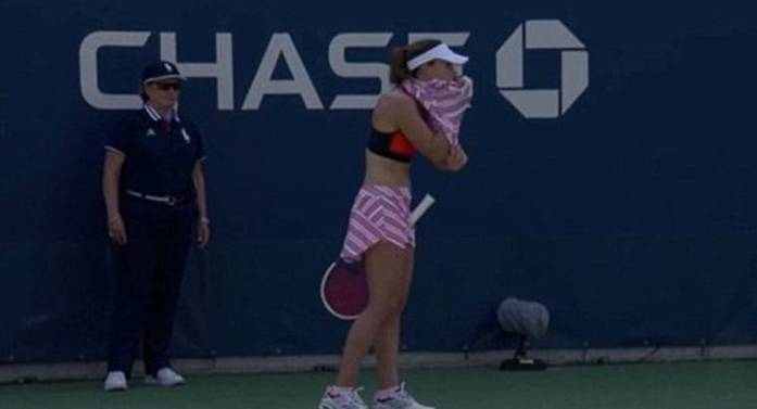 Image result for sexist-call-sees-alize-cornet-slapped-with-code-violation-for-changing-shirt-on-court