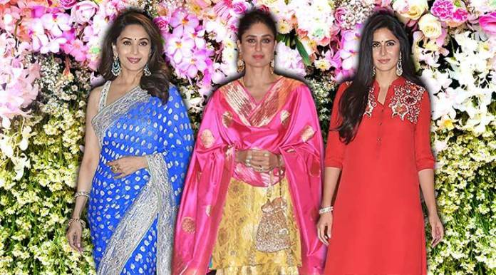 Kareena Kapoor Khan, Katrina Kaif, Shah Rukh Khan, salman khan, madhuri dixit  Mukesh Ambani's Ganesh Chaturthi bash: Kareena, Katrina, Madhuri, and others arrive in style ganesh chaturthi bollywood 759
