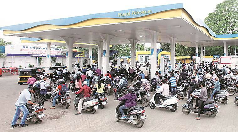 petrol price today and diesel price today, what is today's fuel prices