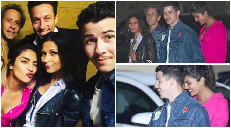Priyanka Chopra Fun night with fiance Nick Jonas Inside photos