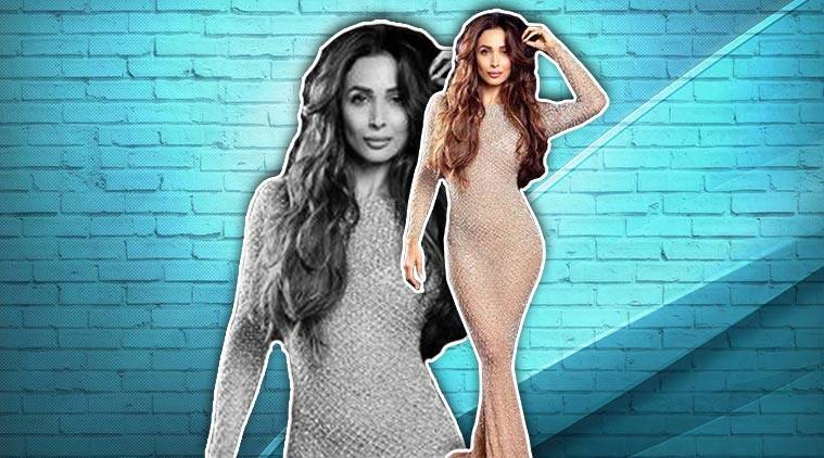 Malaika Arora slays in this sequin bodycon gown by YousefAljasm